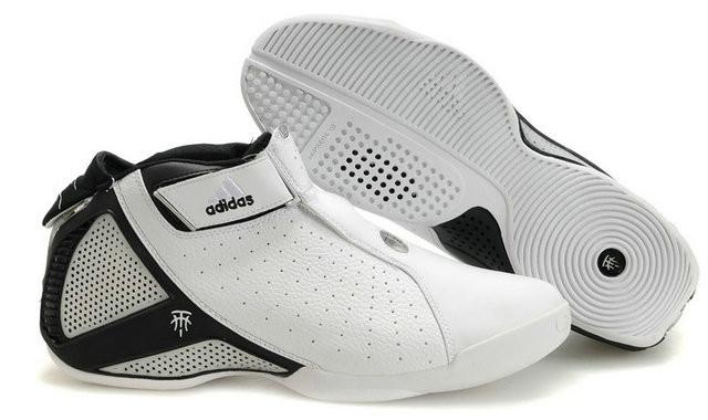 Баскетбольные кроссовки Adidas T-Mac 4 (Tracy McGrady) белые