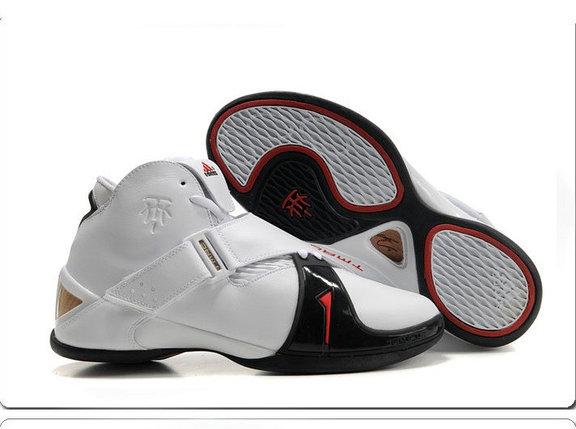 Баскетбольные кроссовки Adidas T-Mac 5 (Tracy McGrady) белые, фото 2