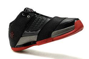Баскетбольные кроссовки Adidas T-Mac 6 (Tracy McGrady) черно-красные, фото 2