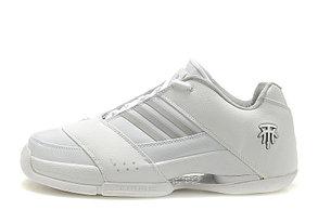 Баскетбольные кроссовки Adidas T-Mac 6 (Tracy McGrady) белые, фото 2