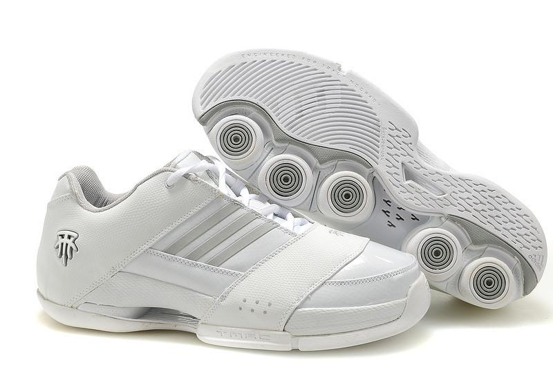 Баскетбольные кроссовки Adidas T-Mac 6 (Tracy McGrady) белые