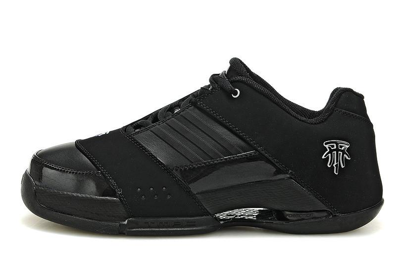 Баскетбольные кроссовки Adidas T-Mac 6 (Tracy McGrady) черные