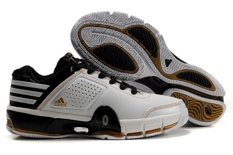 Adidas T-Mac 8 (Tracy McGrady) баскетбольные кроссовки бело-черные