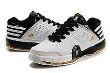 Adidas T-Mac 8 (Tracy McGrady) баскетбольные кроссовки бело-черные, фото 3