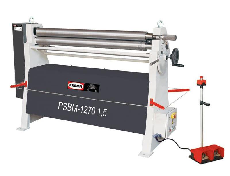 Листогибочные вальцы PSBM - 1270 - 1,5