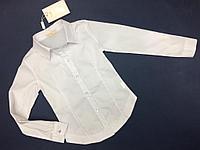Блузки белые SASHA для девочек 6-12 лет