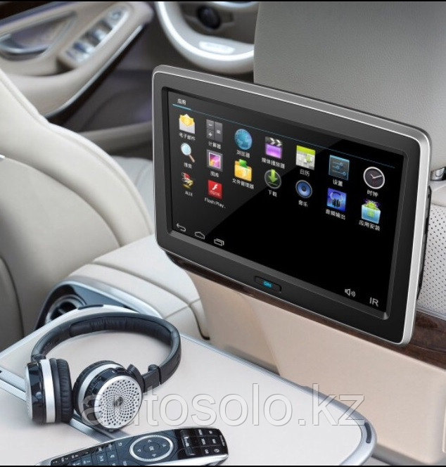 На подголовник монитор планшет для задних пассажиров