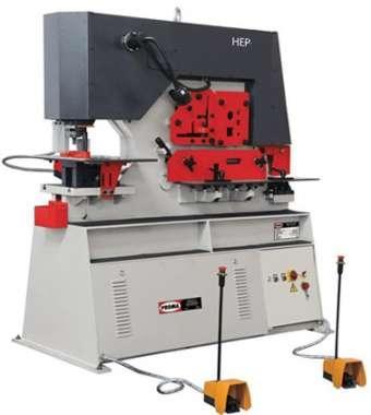 Комбинированные гидравлические пресс-ножницы HEP-1150