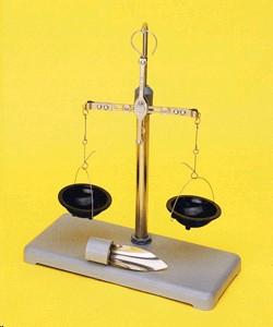 Весы ВСМ-5 для сыпучих материалов; 0,1 - 5 г, +/- 10 мг, d чашек-46 мм (комплект 2)