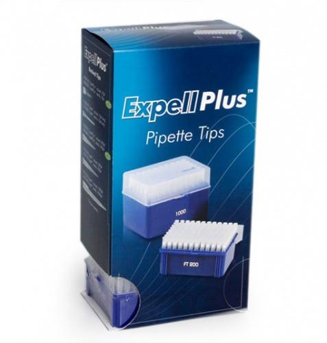 Наконечники Expel Plus 200ul (0.5-200 мкл) для одноканальных дозаторов CAPP, стерильные, 1штатив х 96 шт