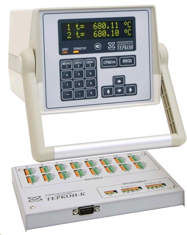 Коммутатор ТЕРКОН-К входных сигналов, 16-ти разрядный к прецизионному преобразователю сигналов ТЕРКОН
