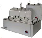 Баня масляная ЛБ33-2 (Токр+5...+200 °С, +/-1*С), 3 рабочих места, V ванны-10,8 л, глубина ванны-160мм
