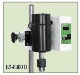 Перемешивающее устройство ES-8300D без штатива, V=0,25-10 л, 100-3000 об/мин, 155х350х230
