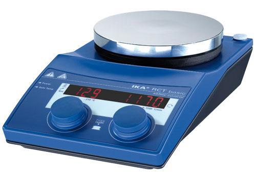 Магнитная мешалка RCT basic safety control IKAMAG (50-1500 об\мин плавно, V=20 л) с подогревом ( t=50-310 (360)° С)