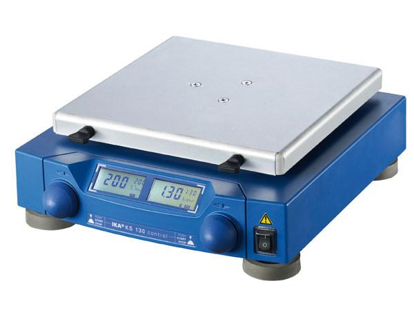 Шейкер орбитальный KS 130 control IKA (80-800 об/мин) без приставок