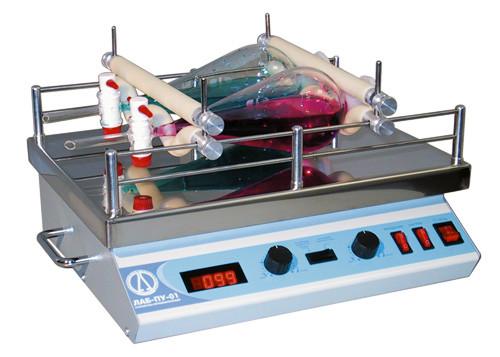 Шейкер орбитальный LOIP LS-110, 0-200 об/мин, амплитуда-20 мм, max.нагрузка-10кг, подогрев платформы до +100°С