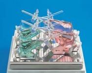 Зажим из н/ж стали GFL 3959 для крепления делительных воронок (V=250 мл) к шейкерам GFL