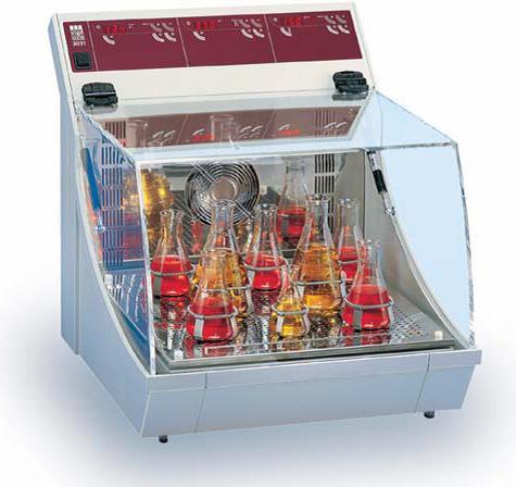 Шейкер-инкубатор GFL 3031(10-250 об/мин, V=46 л, 1-уровневый) орбитальный, с откидной крышкой, без приставок