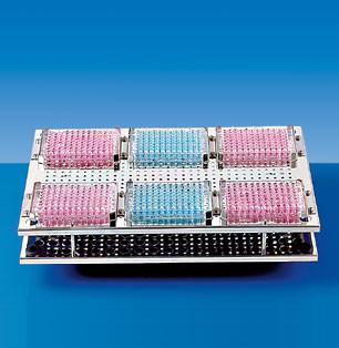 Приставка GFL 3923 для фиксации 6 микропланшетов к шейкерным водяным баням GFL 1083, 1086, 1092