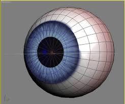 Глазное яблоко из пластмассы
