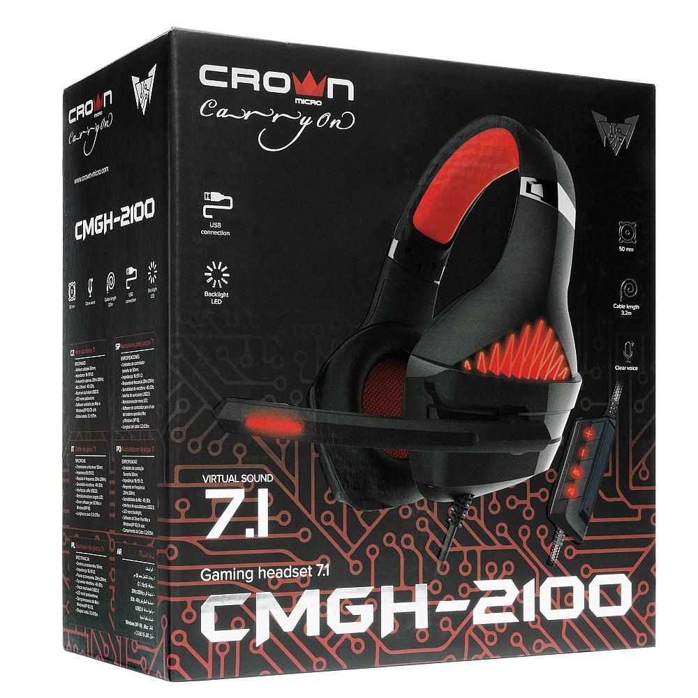 Наушники игровые CMGH-2100 Black&Red
