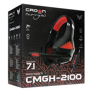 Наушники игровые CMGH-2100 Black&Red, фото 2