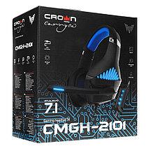 Наушники игровые CMGH-2101 Black&Blue, фото 3