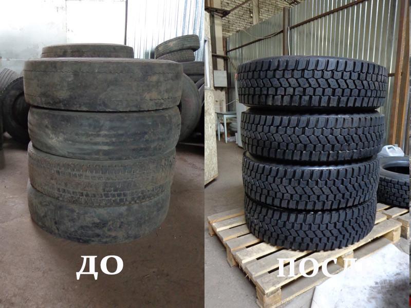 Восстановление шин размер 315/70 R22,5