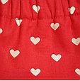 Многоразовые трусики подгузники для бассейна с высокой талией красные сердечки, фото 7