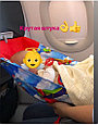 Гамак в самолет  звезды на сером, фото 4