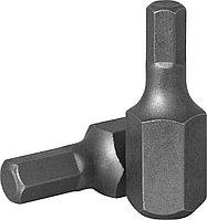 Бита 10 мм, шестигранная 10 мм, 30 мм, S2 материал