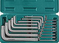 Набор угловых ключей Torx Т6-Т70, 16 предметов