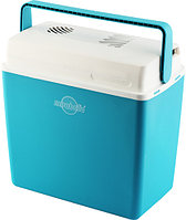 Холодильник EZETIL E-24 MIRABELLE (21,7л.)(Delta T=14ºС)(12/230V)-аквамарин/белый R 30412, фото 1