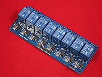 8-Канальный модуль реле SRD-5VDC-SL-C с опторазвязкой