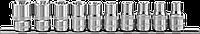 """Набор головок торцевых 1/2""""DR на держателе, внешний TORX®, E8-E24, 10 предметов"""