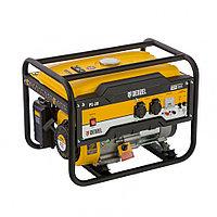 Генератор бензиновый PS 28, 2.8 кВт, 230 В, 15 л, ручной стартер Denzel, фото 1