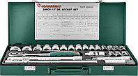 "Набор головок торцевых 1/2""DR, 8-34 мм., с аксессуарами, 24 предмета"