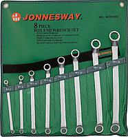 Набор ключей гаечных накидных изогнутых 75° в сумке, 6-22 мм, 8 предметов