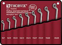 W2S9TB Набор ключей накидных в сумке 6-24 мм, 9 предметов