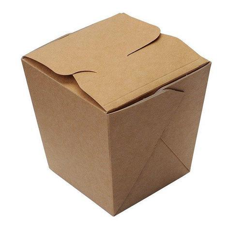 Коробка д/лапши картонная склеенная ECO NOODLES gl 560мл, 95х95х100мм, 420 шт, фото 2