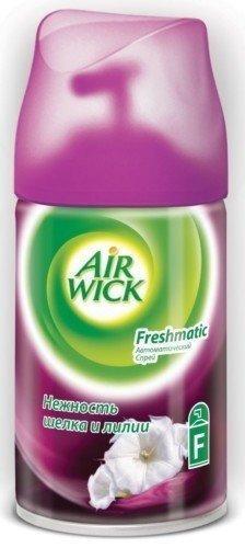 """Освежитель воздуха """"AIRWICK"""" сменный аэр. Нежность шелка и лилии , 250 мл"""