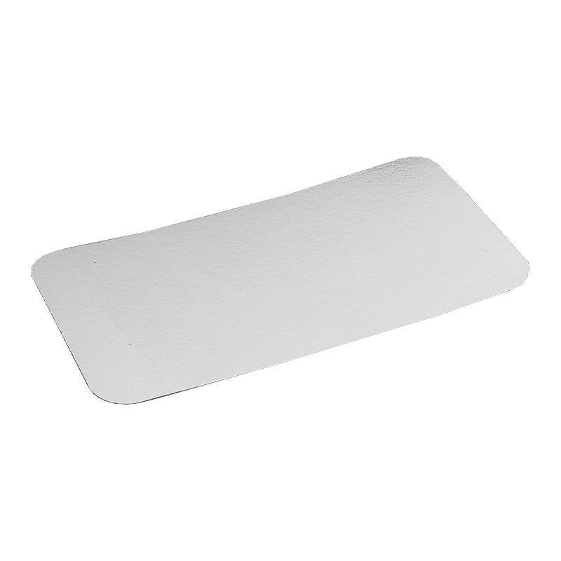 Крышка к алюминиевой форме 145x119мм, картон/алюминий, 1200 шт