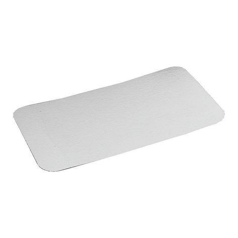 Крышка к алюминиевой форме 145x119мм, картон/алюминий, 1200 шт, фото 2