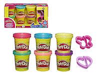 Набор пластилина из 6 баночек Блестящая коллекция PLAY-DOH