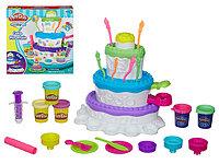 Набор пластилина Игровой Праздничный торт PLAY-DOH