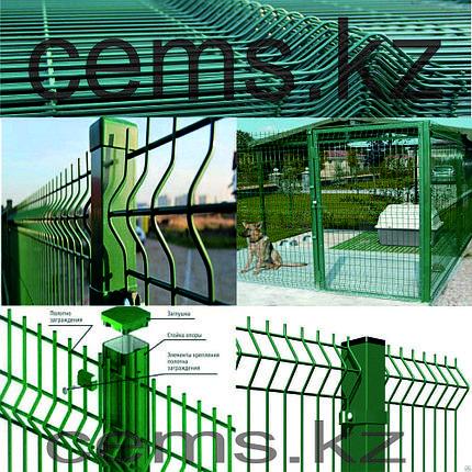 3D панели ограждения (сетка), фото 2