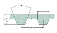 PHG T10-780 - 16  ремень SKF