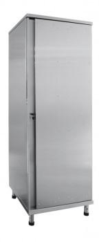 Шкаф для одежды ШРО-6-0 нерж. (600х560х1800 мм)