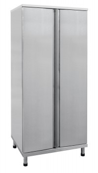 Шкаф распашной для хлеба ШРХ-6-1 РН нерж. (820х560х1800 мм, вместимость 7 лотков для хлеба 456х740х71 мм)