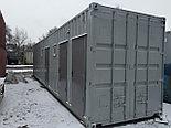 Контейнер 40ф под 9 душевых (модульные здание под душевую), фото 5